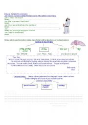English Worksheets: customs