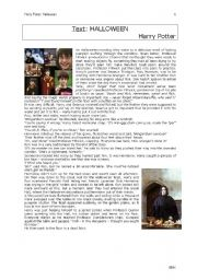 English Worksheets: Harry Potter (completely in English this time)