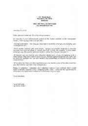 Example Cover Letter - StudentJob UK