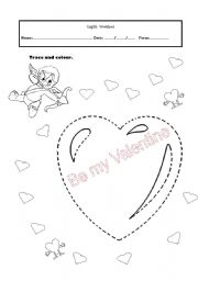 English Worksheet: S.Valentines
