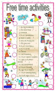 Worksheets Free Student Worksheets english teaching worksheets free time activities activities