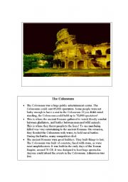 6. Information Flash Cards about different places in the world.