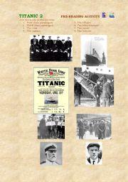 English Worksheet: TITANIC 2