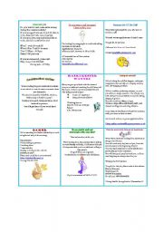 English Worksheet: Job-Advert Board - Part II
