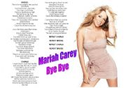 English Worksheet: Mariah Carey - Bye Bye