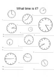 English worksheets the time worksheets page 71 telling time worksheet ibookread Read Online