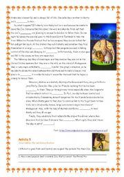 English Worksheet: Madagascar - The Movie 2/3