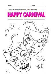 Carnival - worksheet by Xandie