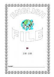English worksheet: English file