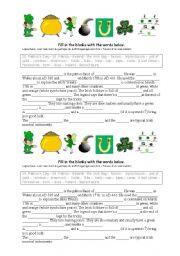 English Worksheets: St Patrick