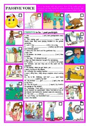 English Worksheets: PASSIVE VOICE