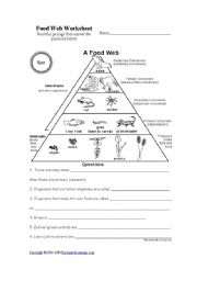 Printables Food Chains Worksheet food chains worksheet ks1 templates and worksheets ks2 imperialdesignstudio
