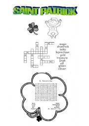 English Worksheets: Saint Patrick activities