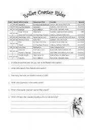 English Worksheets: Interpret Data
