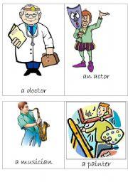 English worksheet: Occupations (3/3)