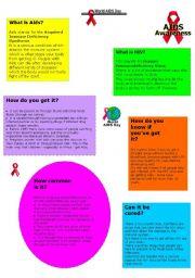 English Worksheets: AIDS
