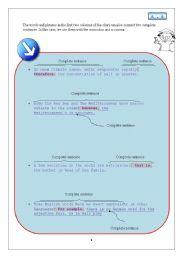 English Worksheets: Transitions (2)