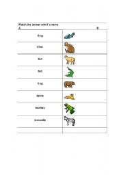 Names of animals with ...