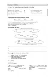 English Worksheet: Fix you by Coldplay