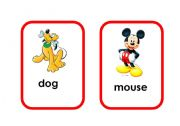 English Worksheets: Cartoon animal flashcards (2/5)
