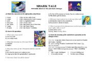 Shark Tale - Video Activity
