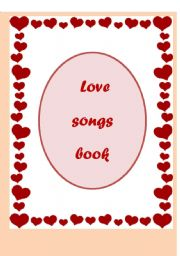 love songs book (12 pages)