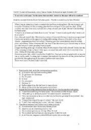English Worksheet: English proficiency test