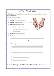 Friendly Letter Esl Worksheet By Nilaxal