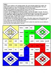 Past Tense Pronunciation LUDO Game