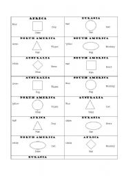 English Worksheets: Way of dividing 15 students into groups (either of 3 or 5)
