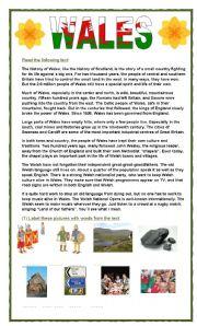 Wales: hills & valleys