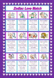 Love Zodiac Matches