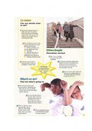 English worksheet: Planning & Organising an English Camp or School Trip