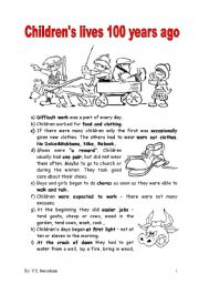 LIFE IN THE PAST - USED TO - ESL worksheet by boradona