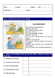 English Worksheet: 3rd worksheet on verb