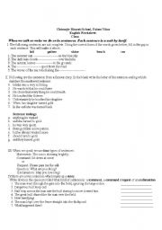 English Worksheets: English ,lessson plan