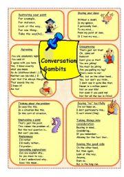 Conversation Gambits 2