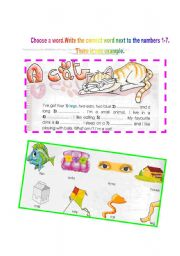 English Worksheets: HAVE GOT-DESCRIPTION  OF A CAT- WHAT AM I?LOOK AT THE PICTURES AND FILL IN THE BLANKS