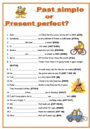 Past simple & Present perfect