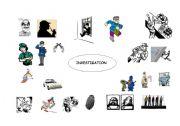 english worksheets investigation vocabulary. Black Bedroom Furniture Sets. Home Design Ideas