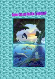 English Worksheets: Dolphins reading (project) part 2