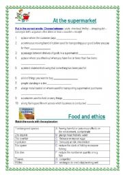 Ethical actions worksheet