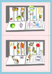 English Worksheet: What�s in your fridge? part 2 - pair work