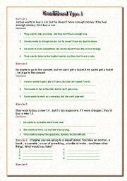 English worksheet: Conditional Type 2
