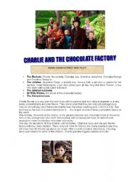 English Worksheet: FILM: CHARLIE AND THE CHOCOLATE FACTORY