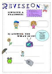 English worksheet: SIMPLE WS FOR KIDS!!!!!! 25-01-09