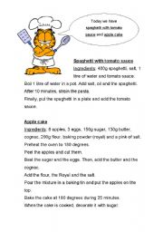 Easy recipes for elementary students