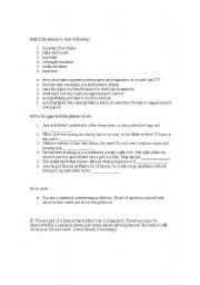 English Worksheet: Speaking Lesson - Fame