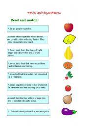 English teaching worksheets: Vegetables