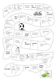 English Worksheet: First conditional board game